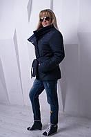 Женская темно-синяя куртка Dakota ТМ VICCO 44-54 размеры