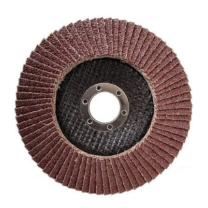Круг лепестковый торцевой 125x22 K36 (ВТ-0203), фото 2