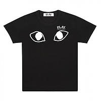 Футболка   Comme des garcons Eyes logo