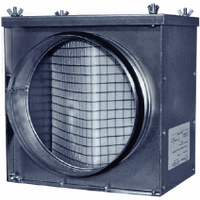 Фильтр-бокс круглый для систем вентиляции RCF