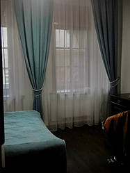 Шторы для съемной квартиры по ул. Озерная, 21а