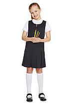 Школьный сарафан темно-синий для девочек 6 лет Pleat Pinafore F&F (Aнглия)
