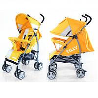 Коляска-трость TILLY Lander BT-SB-0009 YELLOW, детская прогулочная коляска