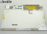 "Матрица 14.1"" LTN141BT09 (1280*800, 40pin, LED, NORMAL, матовая, разъем справа вверху) для ноутбука"