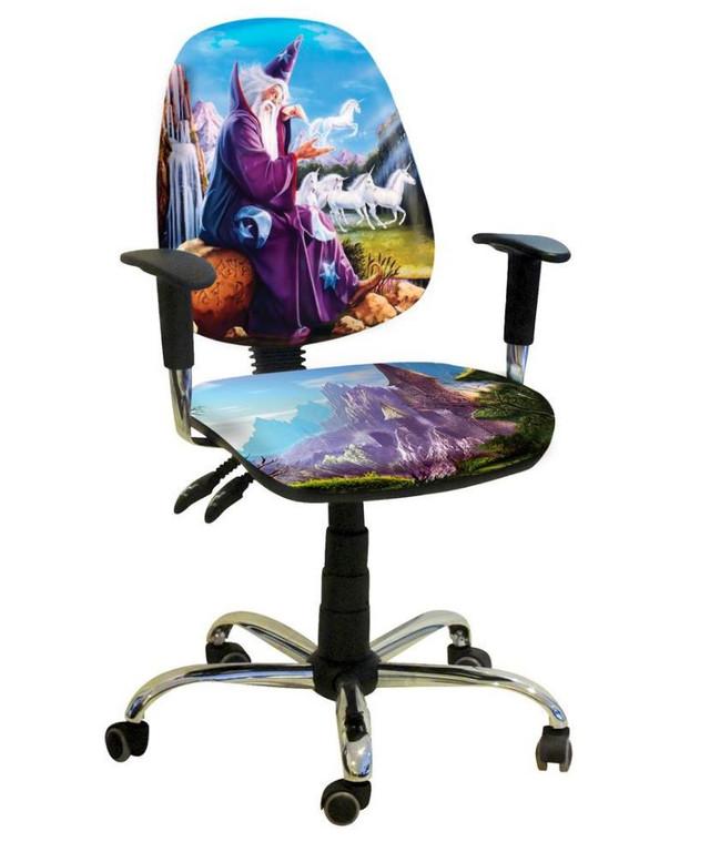 Кресло Бридж Хром Дизайн № 12 Волшебник