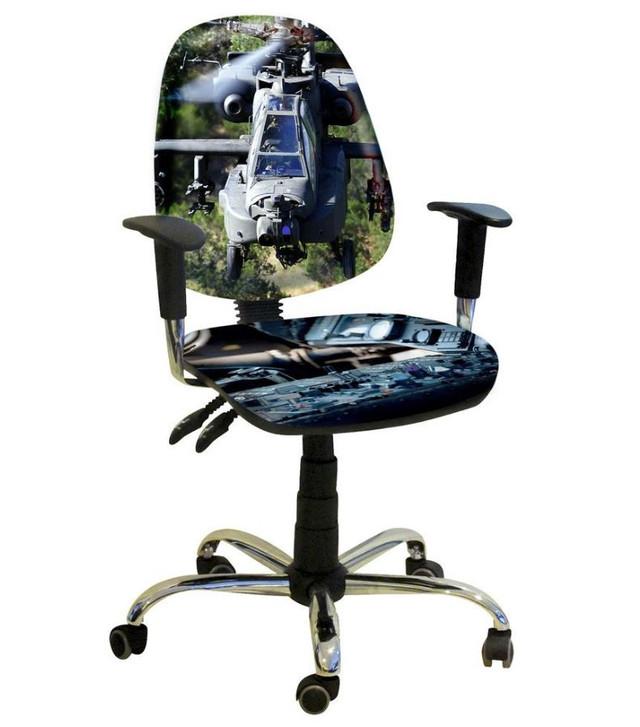 Кресло Бридж Хром Дизайн № 17 Вертолет