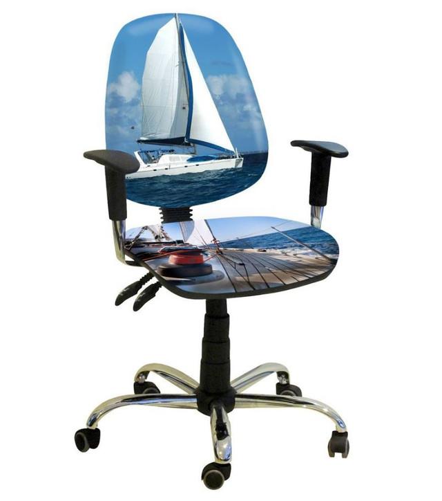 Кресло Бридж Хром Дизайн №18 Яхта