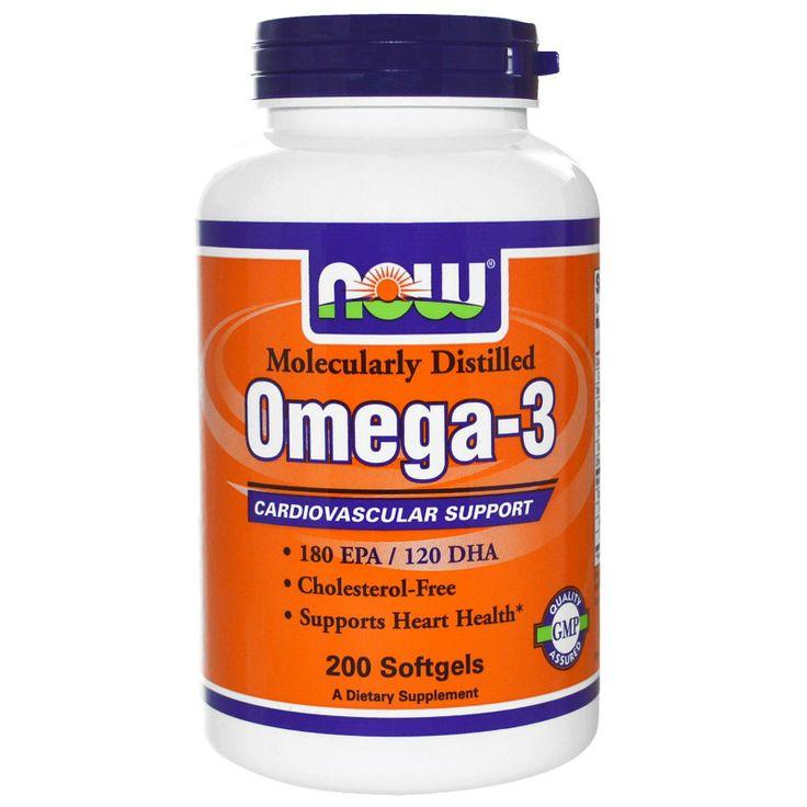 NOW Omega-3 200 softgels