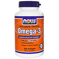 NOW Omega 3 (200 caps)