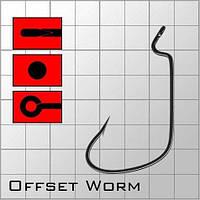 Крючки metsui OFFSET WORM №1/0  (6шт)