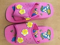 Шлепанцы детские розовые 25-34 размер