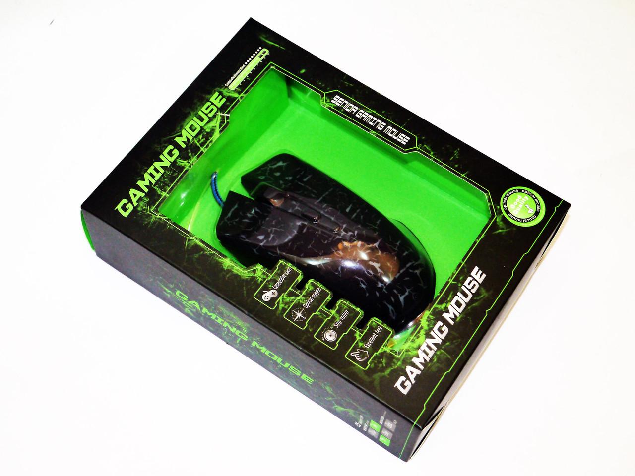 X2  мышка игровая, проводная USB