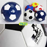 Мяч футбольный BT-FB-0023 прес-кожа 5 цветов 300гр.