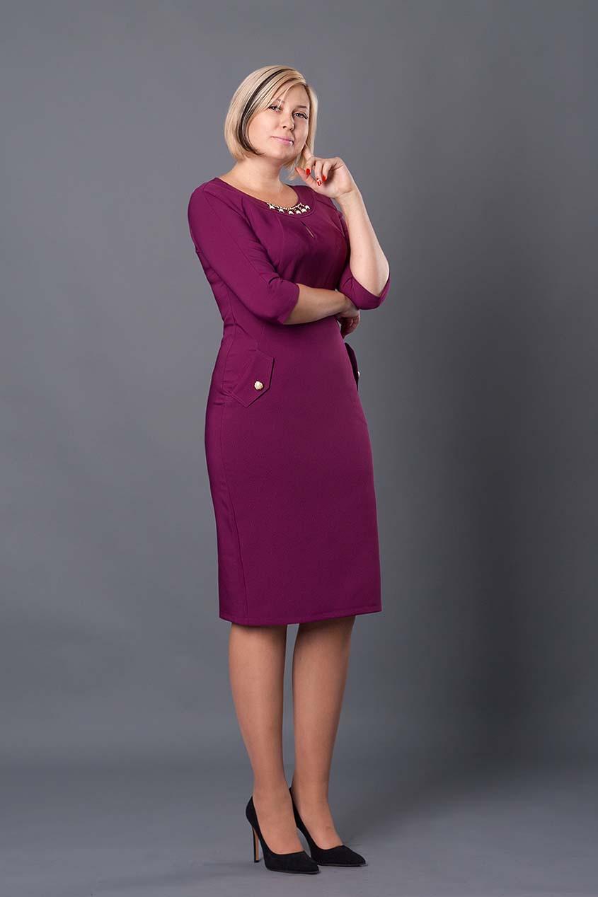 fc91c87f713 Красивое женское платье Тиффани цвета бордо  продажа