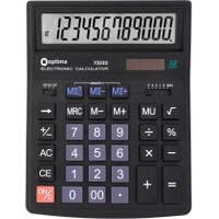 Калькулятор настільний Optima, 12 розрядів, розмір 200*154*36 мм O75525