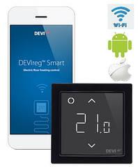 DEVIreg Smart - многофункциональный интеллектуальный смарт регулятор с Wi-Fi модулем Black