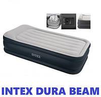 Односпальная надувная кровать (99х191х42см) Intex 64132