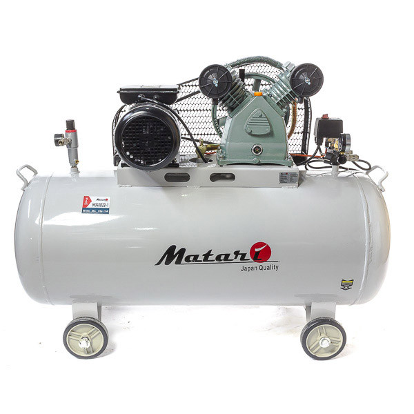 Компрессор Matari M340D22-3 Производительность - 420 л. Объём ресивера - 200 л.
