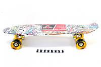 Скейт пенни борд 0748-2 (Светящие колеса)