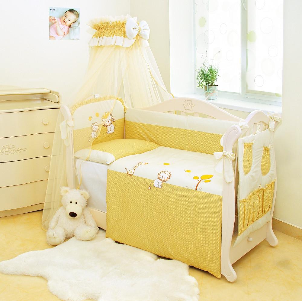 Детское постельное белье Twins Evo Лео А-001 8 эл