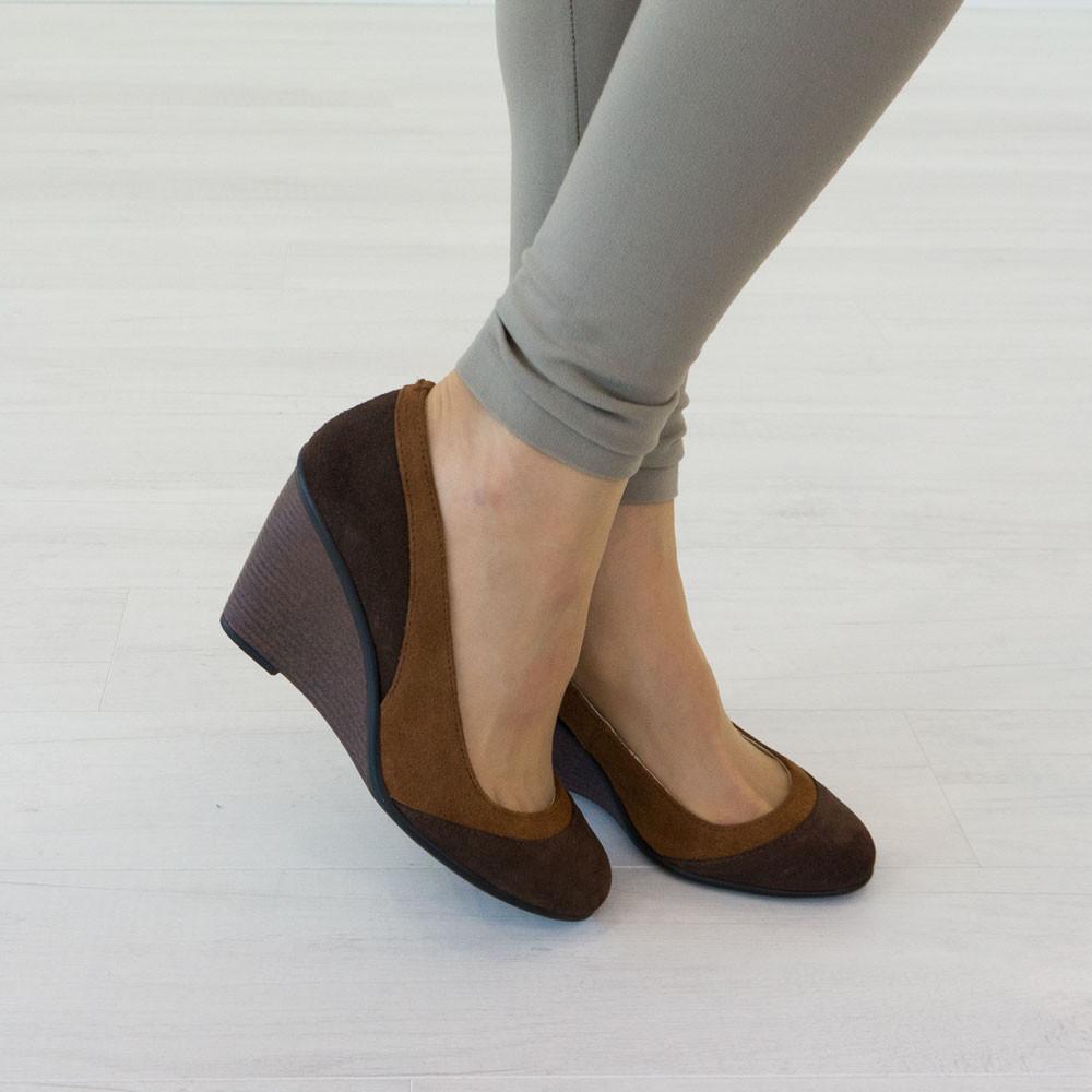 Туфли Woman's heel 38 коричневые (О-568)