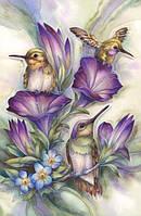 """Набор алмазной вышивки """"Птицы в цветах"""""""