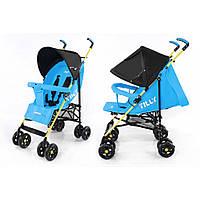 Детская прогулочная коляска трость TILLY Smart BT-SB-0007 LIGHT BLUE