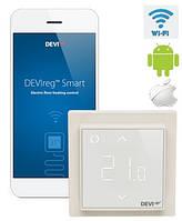 DEVIreg Smart - многофункциональный интеллектуальный смарт регулятор с Wi-Fi модулем Ivory