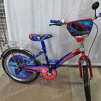 Детский велосипед Mustang Человек Паук 20 дюймов