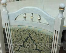 Деревянный стул Бреда высокий цвет пирти (слоновая кость) патина, фото 3
