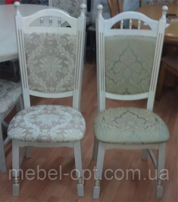 Деревянный стул Бреда высокий цвет пирти (слоновая кость) патина