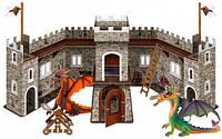 Игровой набор №3 Замок Дракона с фигурками, Bullyland (75037)
