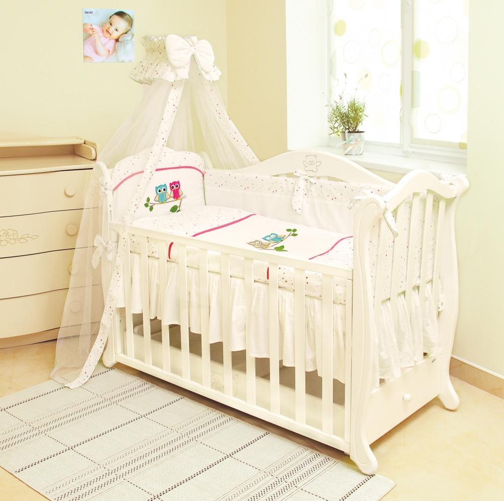 Детское постельное белье Twins Evo Совы А-020 7 эл