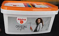 Лазурь Alpina Effekt Crystal Glitzer с разноцветными блестками, 1л