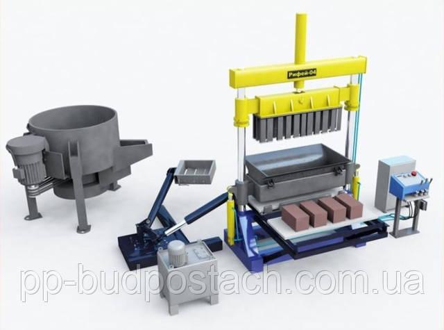 Устаткування для виробництва бетону і тротуарної плитки