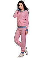 Женский спортивный костюм из  вязаного трикотажа