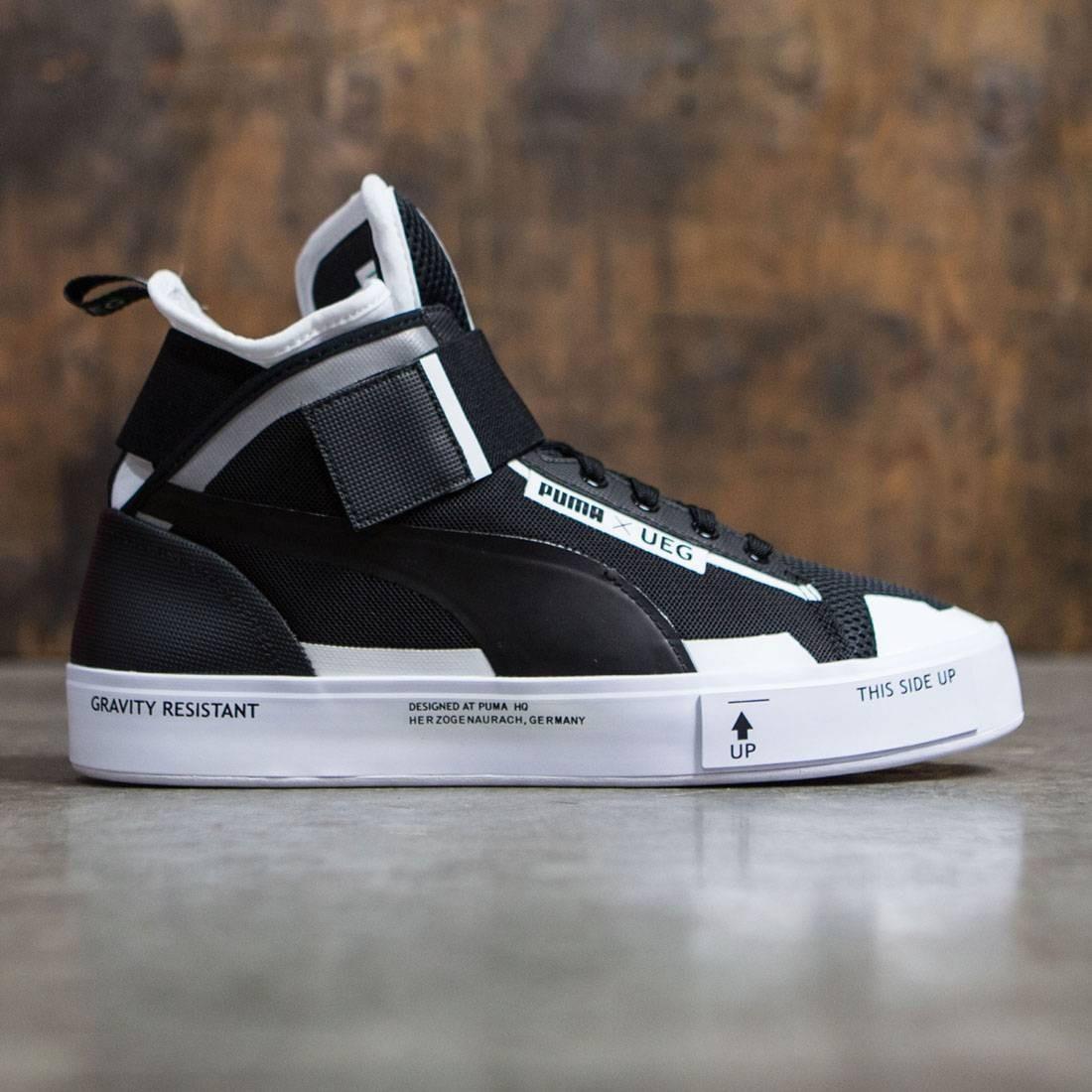 Мужские кроссовки Puma x UEG Men Court Play (black / white)