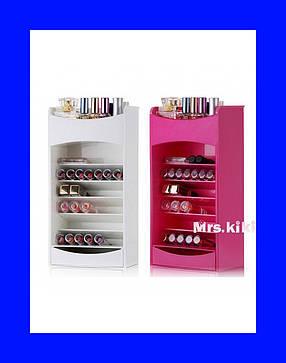 Компактный Органайзер для Хранения Косметики Cosmake Lipstick & Nail Polish Organizer!Акция, фото 2