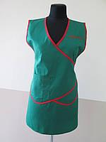 Фартук - накидка для продавца, униформа для продавцов