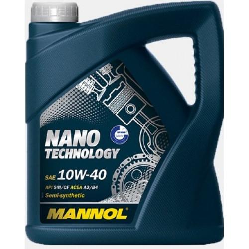 Масло моторное Mannol Nano Technology 10W40 4л