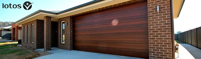гаражные секционные ворота