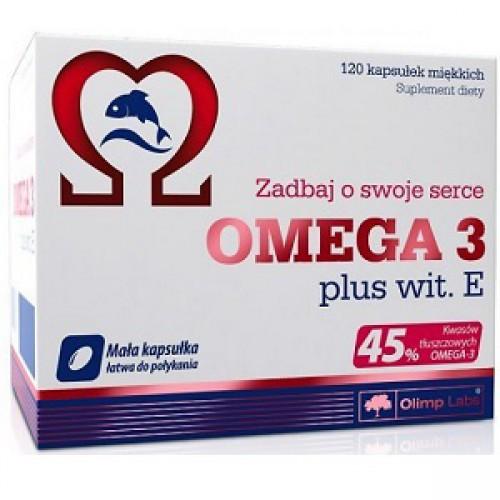 OLIMP Omega 3 45% + vit E 120 caps