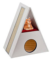 Ferplast MERLIN Будиночок когтеточка для кішок