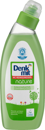 Средство для унитаза Denkmit WC-Reinigungs gel NATURE 750ml.