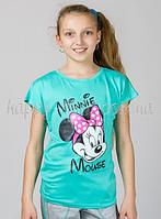 Детская футболка Минни Маус (мята), Golfstream