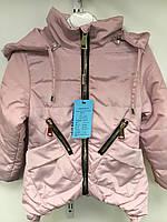 Куртка весна-осень для девочки 4-8лет