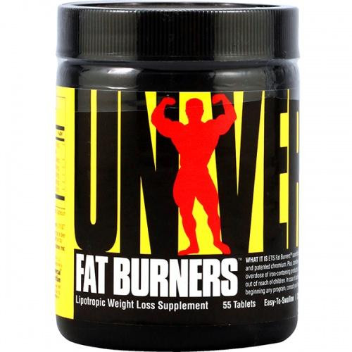 Universal Nutrition FAT BURNERS E/S 55 таб.