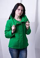 Стильная куртка цвета малахит BONI ТМ VICCO 44-54 размеры