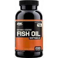 ON Fish Oil Softgels, 200 Softgels