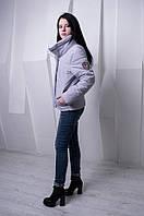 Стильная куртка цвета лаванда BONI ТМ VICCO 44-54 размеры